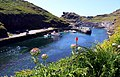 The harbour at Boscastle - geograph.org.uk - 1516585.jpg
