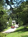 The lodge and driveway to Greenway - geograph.org.uk - 1447276.jpg