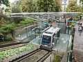 The lower station of Montmatre funicular, Paris 25 September 2016.jpg