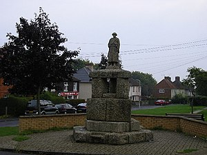 Crewkerne - War memorial in Severalls Park