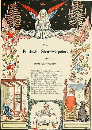 Edward Harold Begbie - The Political Struwwelpeter (1899)