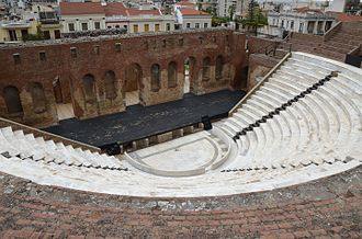 Patras - View of the Roman Odeon