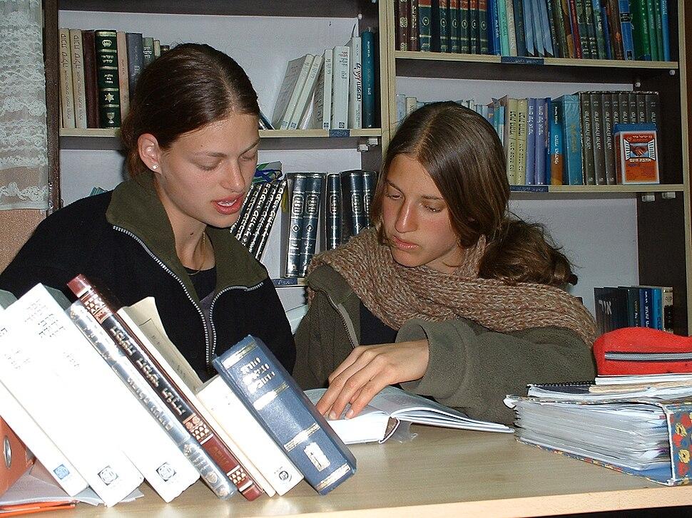 The students a Midreshet Shilat