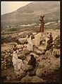 The well of the samaritan (Shechem), Napulus, Holy Land, (i.e., Nablus, West Bank)-LCCN2001699270.jpg