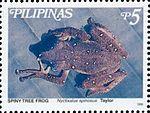 Theloderma spinosum 1999 stamp of the Philippines.jpg