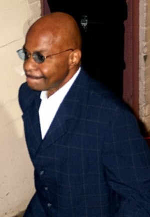 Theodore Long - Theodore Long on his way to the ring.