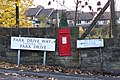 This Way To Post A Letter ... and Go To The Baths in Stocksbridge - geograph.org.uk - 1054982.jpg