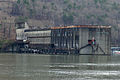 This is the Hales Bar Dam power plant building in Haletown, Tenn., seen from across the Tennessee River at the crumbling navigation lock on the bank of the Tennessee River in Jasper, Tenn., Dec. 19, 2013 131219-A-EO110-004.jpg