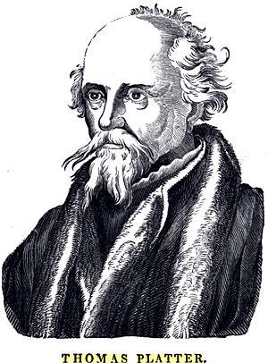 Platter, Thomas (1499-1582)