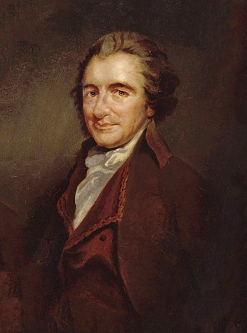 Thomas Paine, whose theory of property showed a libertarian concern with the redistribution of resources