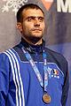 Tiberiu Dolniceanu podium 2013 Fencing WCH SMS-IN t205911.jpg