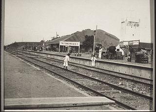 Tiantangwei railway station abandoned railway station in Dongguan