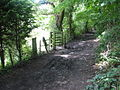 Tintern - stile to riverside walk - geograph.org.uk - 507818.jpg
