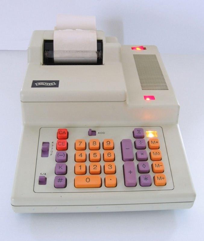 Tischrechner Walther ETR2034S resized