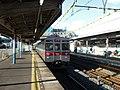 Tokyu 8500 Series 8532 at Satte Station.jpg