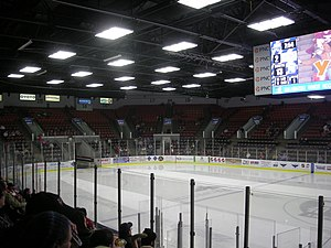 Wings Event Center - Image: Toledo Walleye vs. Kalamazoo Wings January 2014 23