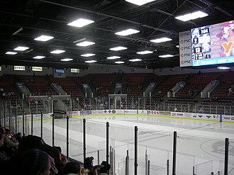 Wings Event Center - Image: Toledo Walleye vs. Kalamazoo Wings January 2014 23