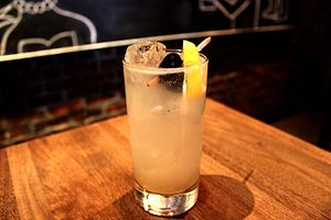Tom Collins - A Tom Collins served at Rye in San Francisco, California