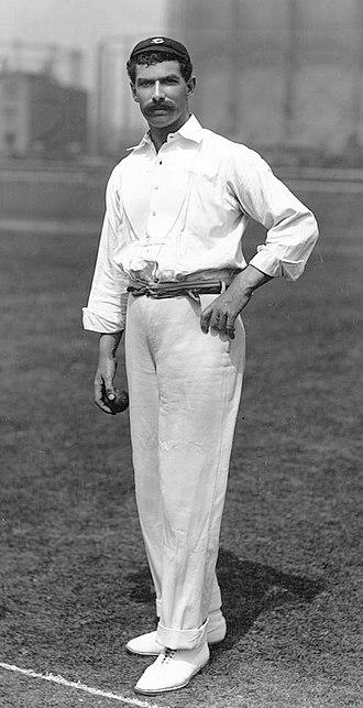 Tom Richardson (cricketer) - Richardson in 1897