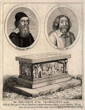 Garden Museum - The tomb of the Tradescants