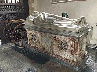 Robert Vernon, 1st Baron Lyveden - Tomb of Robert Vernon, 1st Baron Lyveden in St. Andrew's church, Brigstock, Northamptonshire