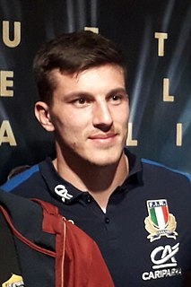 Tommaso Allan Rugby player