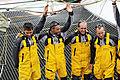 Tonnerres de Brest 2012 - Equipage du Spindrift Racing - 006.jpg