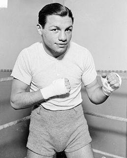 Tony Canzoneri American boxer