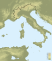 Topographic map of Italy with borders.png