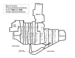 St. Andrew (provincial electoral district) Electoral district in Ontario