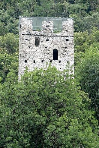 San Vittore, Switzerland - Torre Palas or Torre di Pala