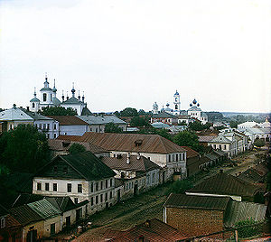 Torzhok - General view of the town in the 1910s