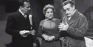 Peppino De Filippo - with Totò, Titina De Filippo in Totò, Peppino e i fuorilegge (1956)