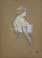 Toulouse-Lautrec - MADEMOISELLE LUCIE BELLANGER, 1896, MTL.194.jpg