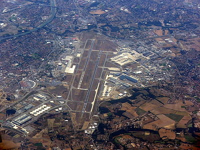 Toulouse Airport, France - aerial view
