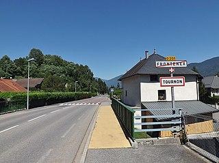 Tournon, Savoie Commune in Auvergne-Rhône-Alpes, France