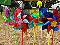 Toy windmills (28843287668).jpg