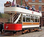 Tram No. 31, Beamish Museum, 11 April 2012 (3).jpg