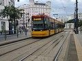 Tram in Warsaw, Pesa Jazz 128N n°3629 - front.jpg