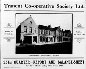 Lothian, Borders & Angus Co-operative Society - The Industrial Revolution flooded Scotland's mill and mining towns with workers, whose co-operatives thrived