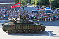 Transnistrian tank parade independence.JPG