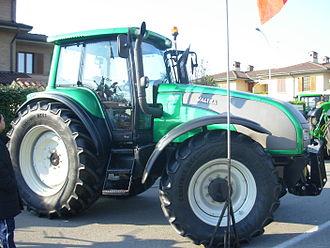 AGCO - Valtra T170 tractor, in 2008