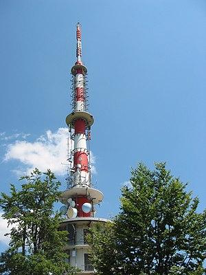Sveta Gera - Telecommunication tower of the RTV Slovenija