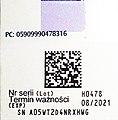 Tritace-2D-4 Oznaczenia opakowania leku zgodne z Europejskim Systemem Weryfikacji Autentyczności Leków.jpg