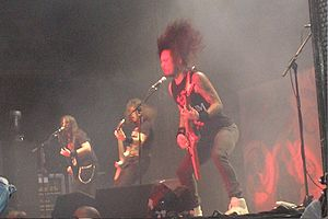 Matt Heafy - Matt Heafy performing in 2008.