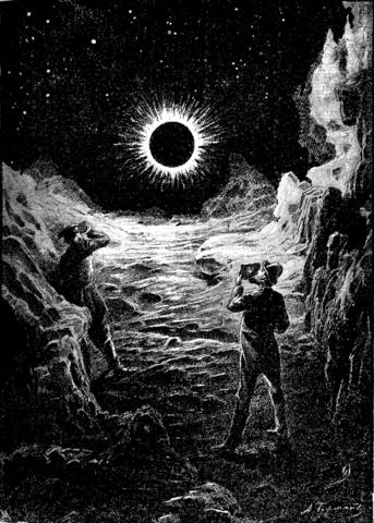 «…мы наблюдали затмение…»Рис. А. Гофмана