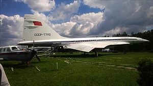 Ulyanovsk Institute of Civil Aviation - Image: Tu 144 at the Museum
