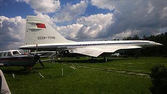 Ulyanovsk Institute of Civil Aviation - Image: Tu 144 at the Museum
