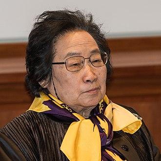 Tu Youyou - Tu Youyou, Nobel Laureate in Physiology or Medicine, in Stockholm, December 2015.