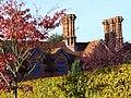 Tudor-style Chimneys, Peace Cottages, Old Merrow Street - geograph.org.uk - 277658.jpg